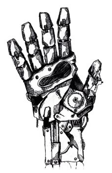 Robot Hand 2  by Incredzible