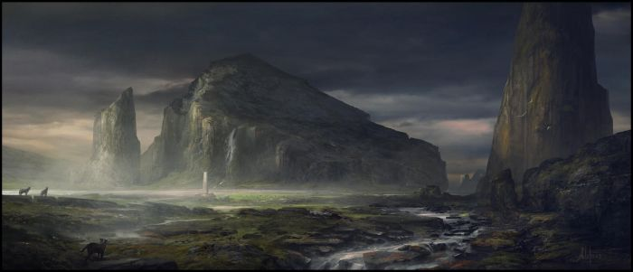 Sacred Grounds by memod