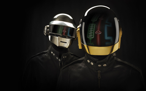 Daft Punk with decoration by killingspr