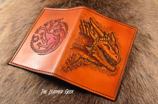 Targaryen Inspired Leather Journal by CoreyChiev
