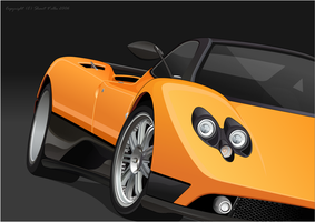 Pagani Zonda F by under18carbon