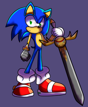Sonic and the black knight by randy-xlmode