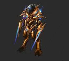 Protoss sketch 2013 by artquest7