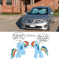Rainbow Dash Sunshade by adamlhumphreys