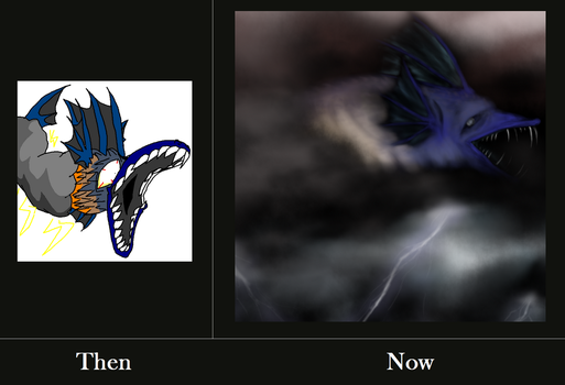 The Storm Dragon by NosoyRidley