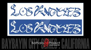Baybayin City Series - L.A. by cyphaflip