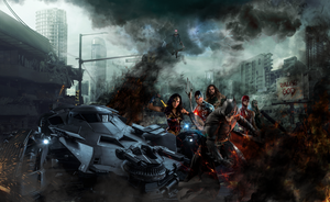 Justice League Social Media Banner - G@BRIEL GR@Y by GBRIELGRY