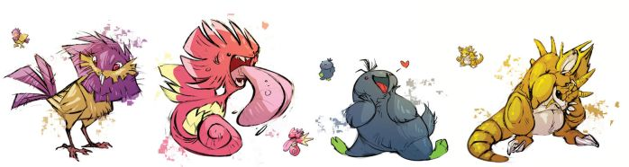 pokemon FUSION by CoconutMilkyway