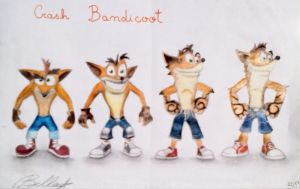 Crash Bandicoot evolution by Bel-Star