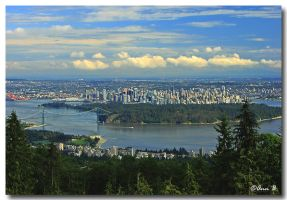 Vancouver view by Ann75