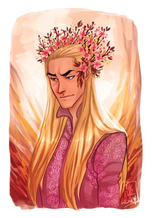 LOTR - Spring crown by the-evil-legacy