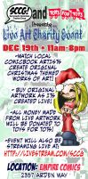 Live Art Charity Event by scatteredcomics