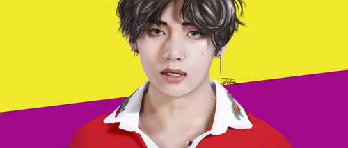 BTS V/Taehyung Color Study by Treeudio