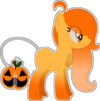 October Adopts [Day 15] - Pumpkin [OPEN] by xHalesx