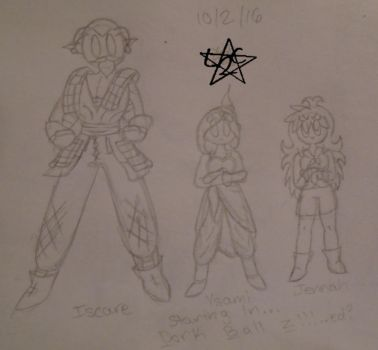 DBX FanFiction: Dork Ball Z Promo(Sketch) by learn2chillax