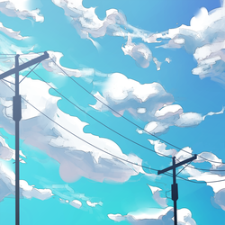 Day Blue : Clouds by gniao