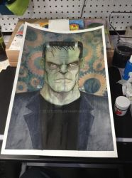 Frankenstein's Monster by 3DXStudios