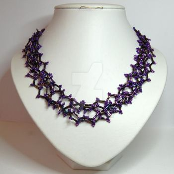 Zig Zag Necklace by crystalstargems