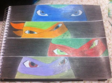 TMNT 2012 - Eyes by Sole-Sen