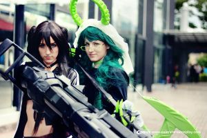 BLACK ROCK SHOOTER by Calendario-Cosplay