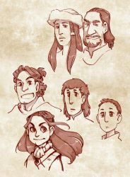 Starks at Harrenhal by poly-m