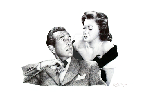 Bogart and Toxton by GazEdwards