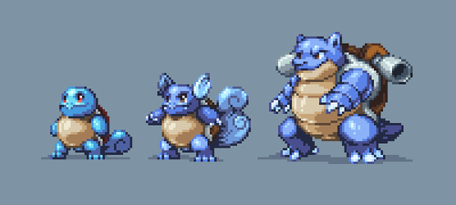 SquirtleEvolution by Mamoruhik
