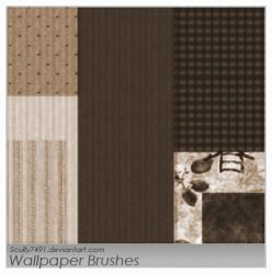 Wallpaper Brushes by Scully7491