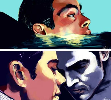 Teen Wolf color test by Crisisdeansiedad