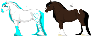 Horse Breedables by ponylover101