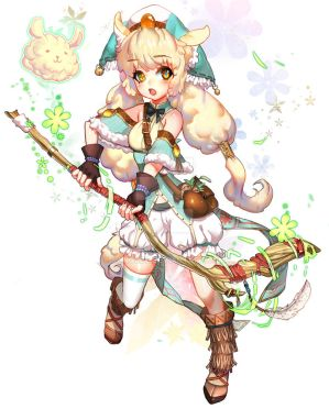 :: Alpaca Warlock Adoptable: [Closed] by Sangrde