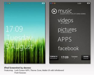 iPod Theme: August 2010 by deoneo