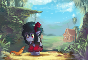 Hey lil guy by InkpotBot
