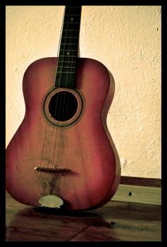 the first guitar by jolline