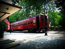 Picture of a Train by jeromy-huber