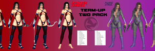 Team-Up 2 Pack: Amazon Arrow and Shade! by jormunartserpent