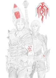 Exile from Kirkwall by Ertenion