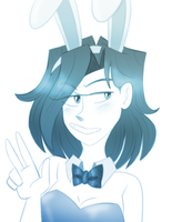 Easter Bunny Lu by xLugiaLuver1x
