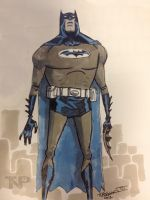 Derpy Batman Lunchtime Sketch... by tnperkins