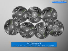 SparkyLinux 4.2 Labels by MiroZarta