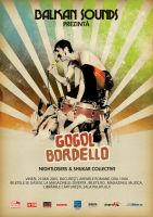 Gogol Bordello by rokarola