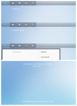 Aftersounds start button Win 7 by MustBeResult