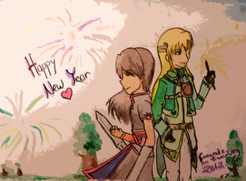 [ HAPPY NEW YEAR EVERYONE ] by Acethirn