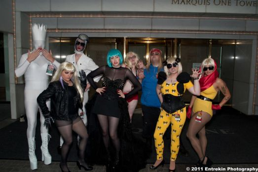 The Gaggle if Gaga by AcidFusion51