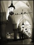 ..The Night Hall - BW.. by lectral