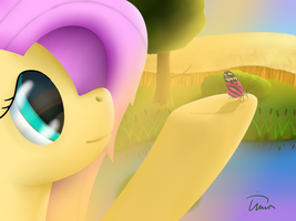 Fluttershy by Tertamsta