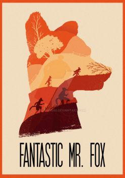 The Many Faces of Cinema: Fantastic Mr.Fox by Hyung86