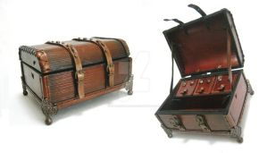 Leather Chest by OfTheGodsBlood
