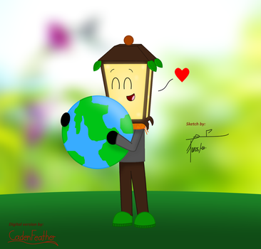 Earth Day - Collab with TorreStuff by CadenFeather