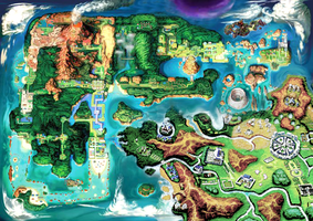 Hoenn and Kalos Fusion Map for Pokemon Z Project